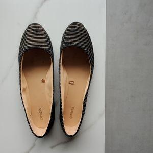 Express Black Flats Size 9